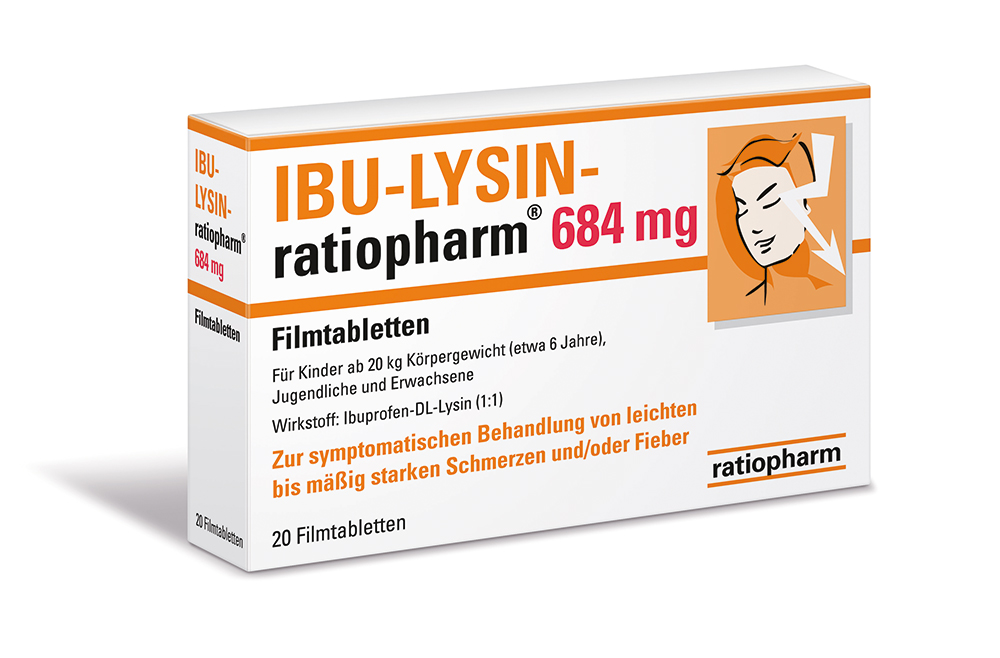 ibu lysin ratiopharm 684 mg filmtabletten 7628546 pzn apozilla. Black Bedroom Furniture Sets. Home Design Ideas